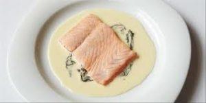 Pavé de saumon à l' oseille