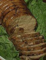 Longe de porc Gannatoise aux champignons