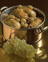 Grives aux raisins